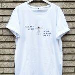 Camiseta FAITH. Impresión digital directa.