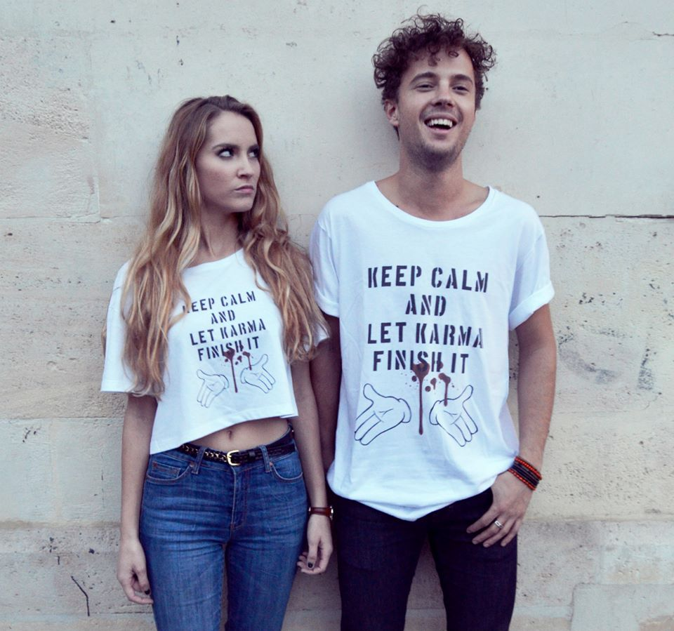 Camisetas chico y chica. Dreamers not allowed.