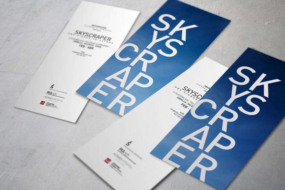 infografía diseño flyers skyscraper realizada por Daniel Rueda.