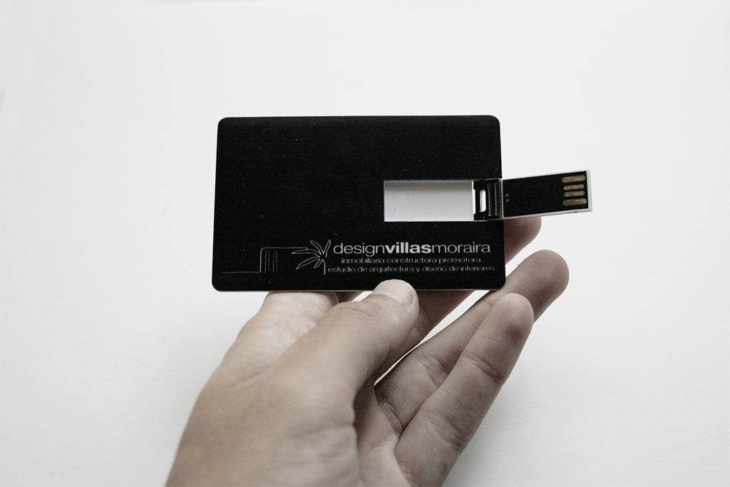 memoria USB personalizada Design Villas Morarira by Archicercle