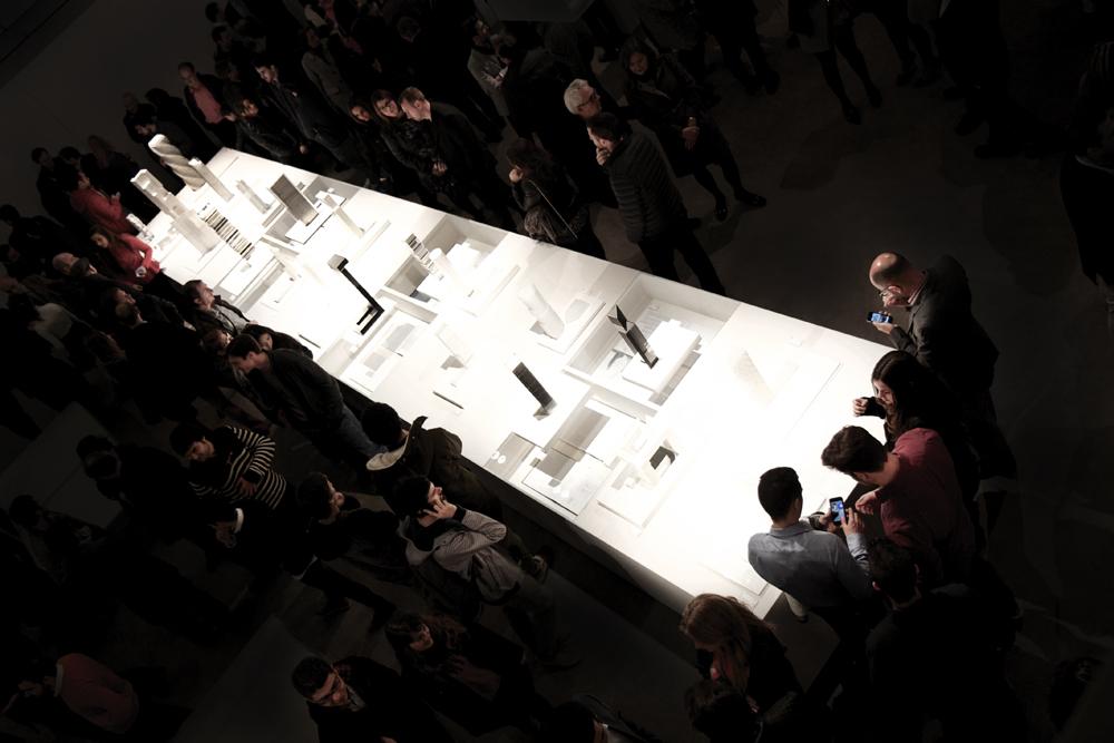 Inauguración exposición Skyscraper. Maquetas