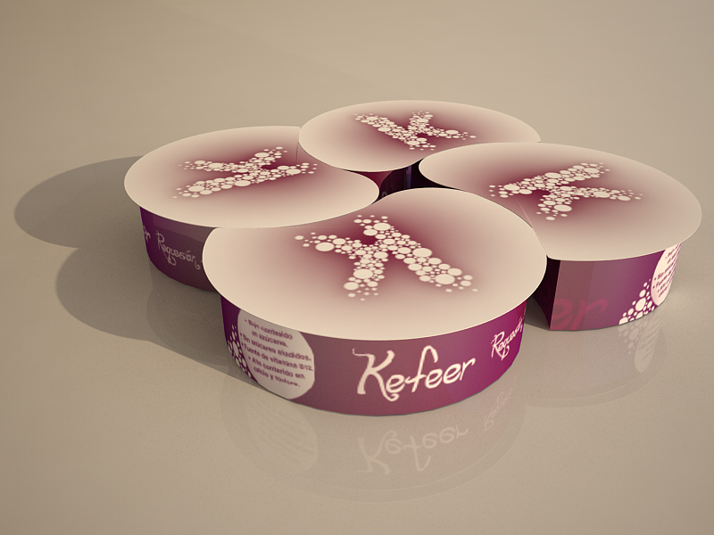 Packaging Kefeer by Archicercle