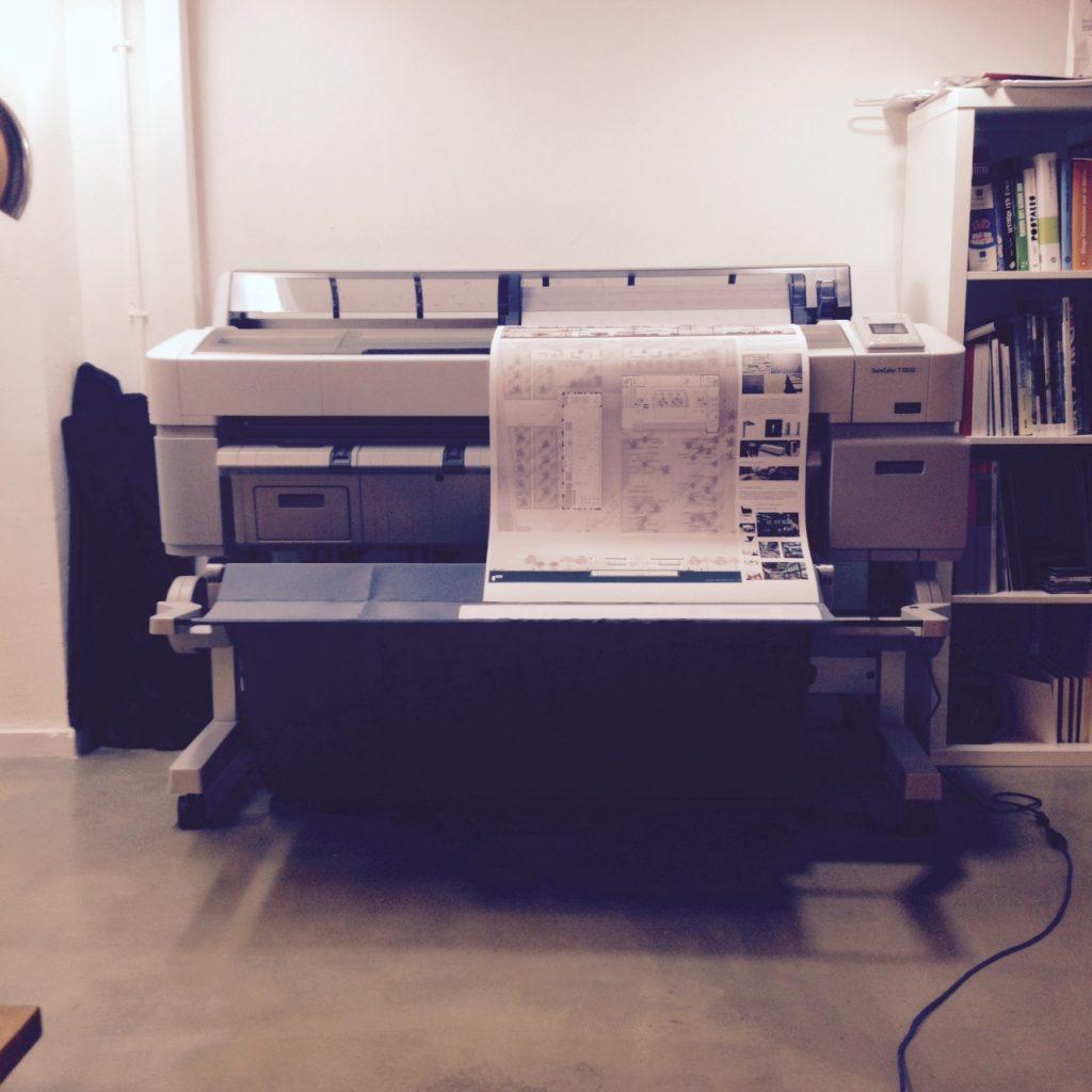Impresión de planos arquitectura archicercle