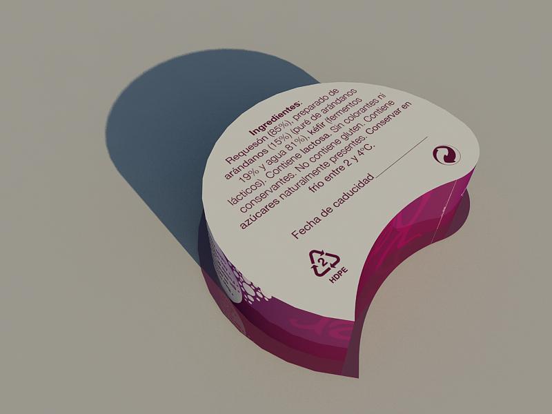 Packaging Kefeer by Archicercle