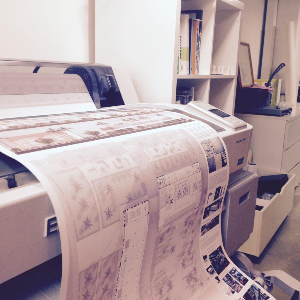 Plotter de impresión Archicercle