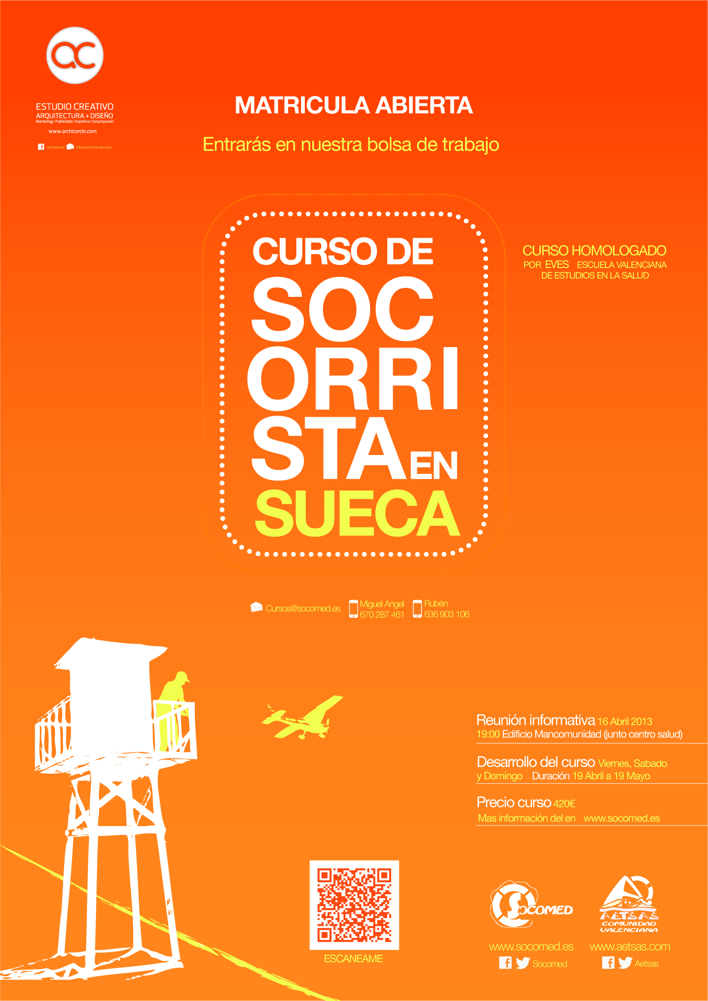 Cartel Socomed by Archicercle