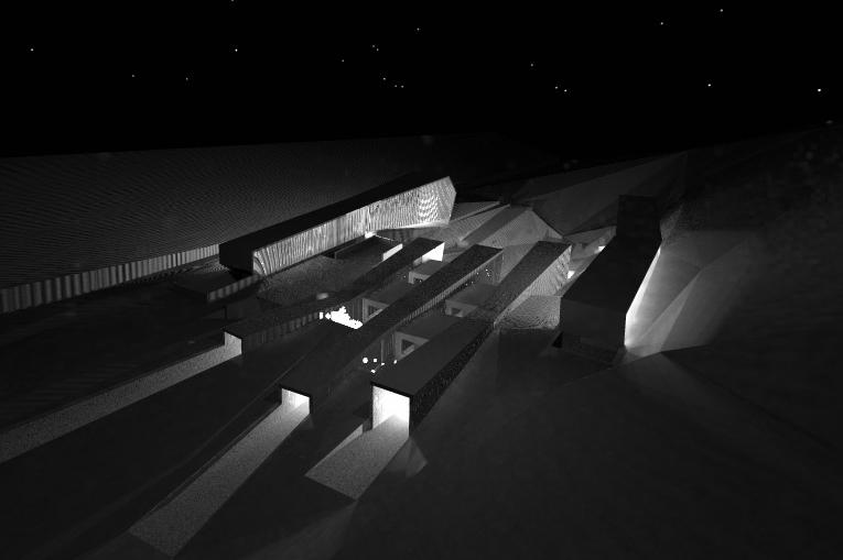 Centro investigación de biosfera por Archicercle