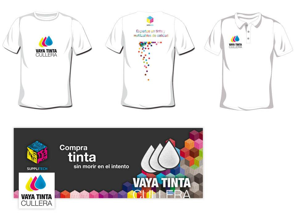 Camisetas Vaya Tinta by Archicercle
