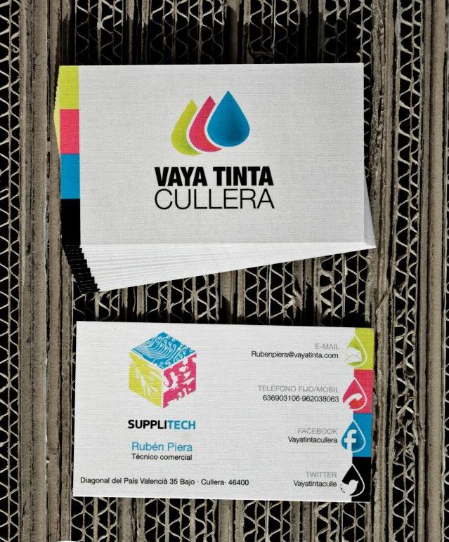Tarjetas Vaya Tinta by Archicercle