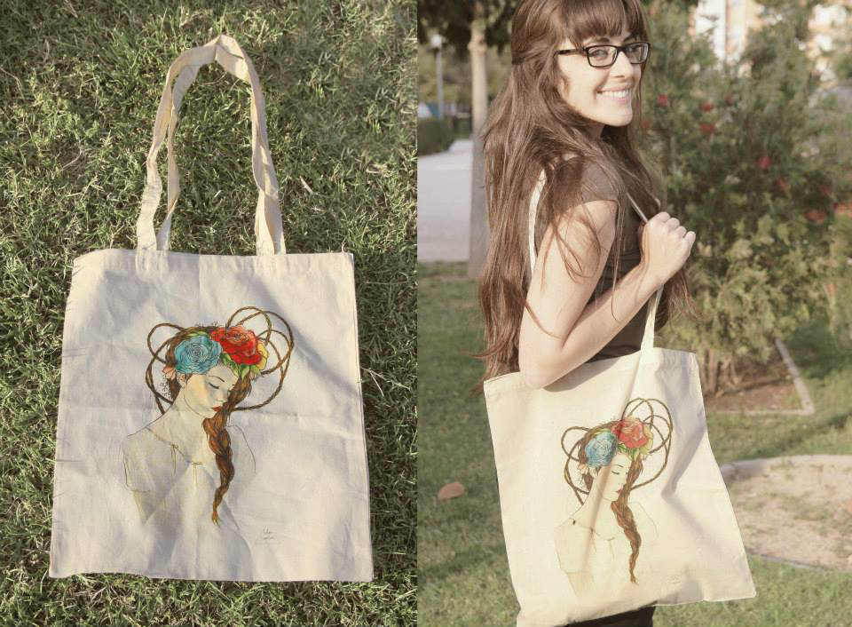 Mochilas y bolsas de algodón Belen Segarra + Archicercle