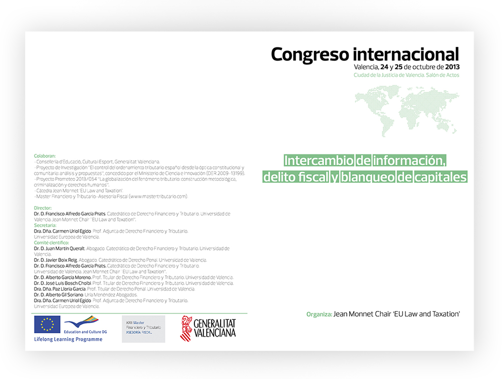 Flyers Congreso Internacional by Archicercle