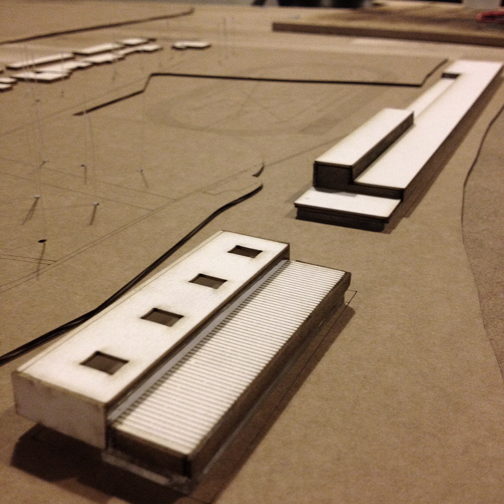 Maqueta PFC Centro deportivo by Archicercle