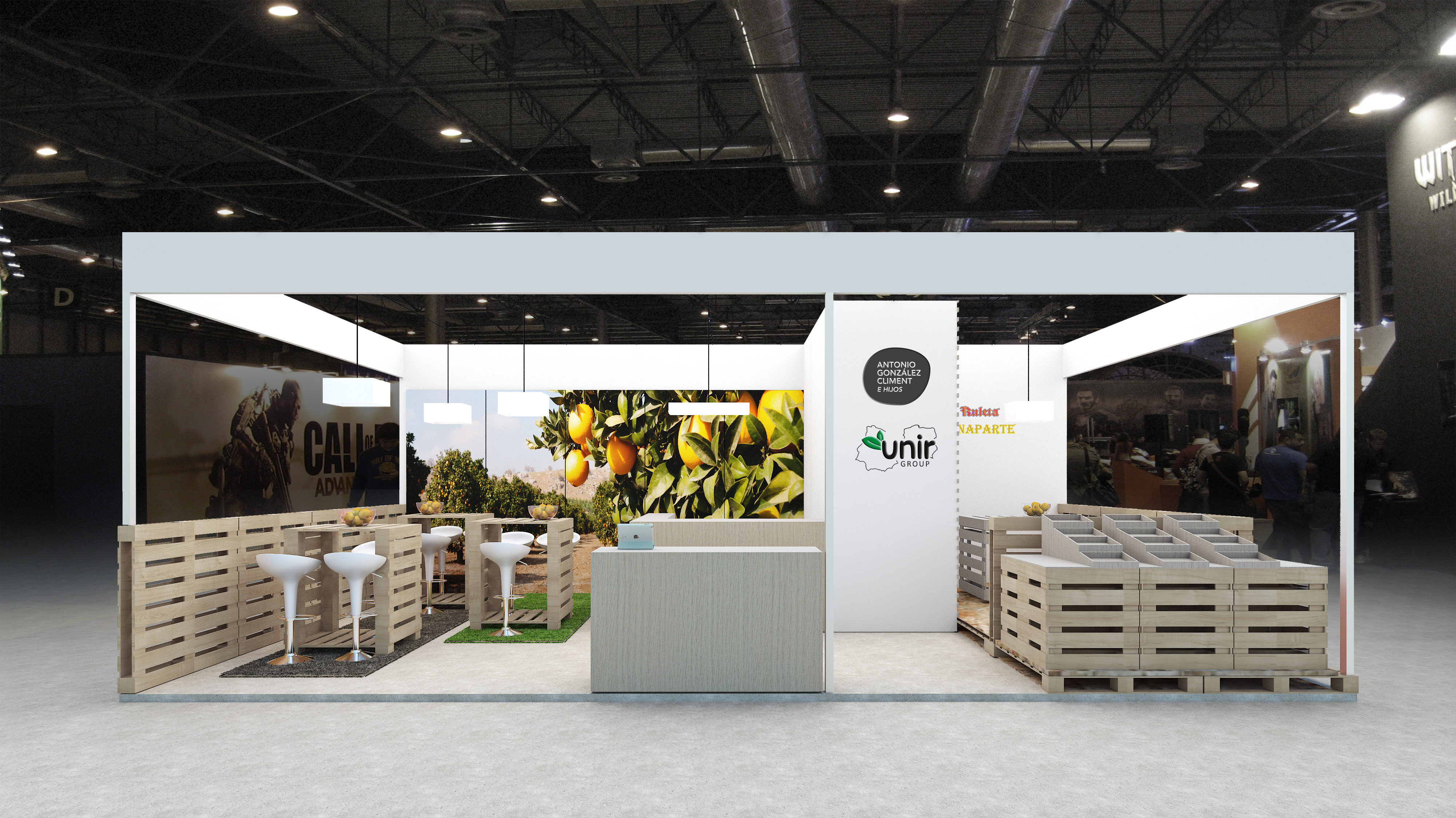 Archicercle STAND fruit atraction_01