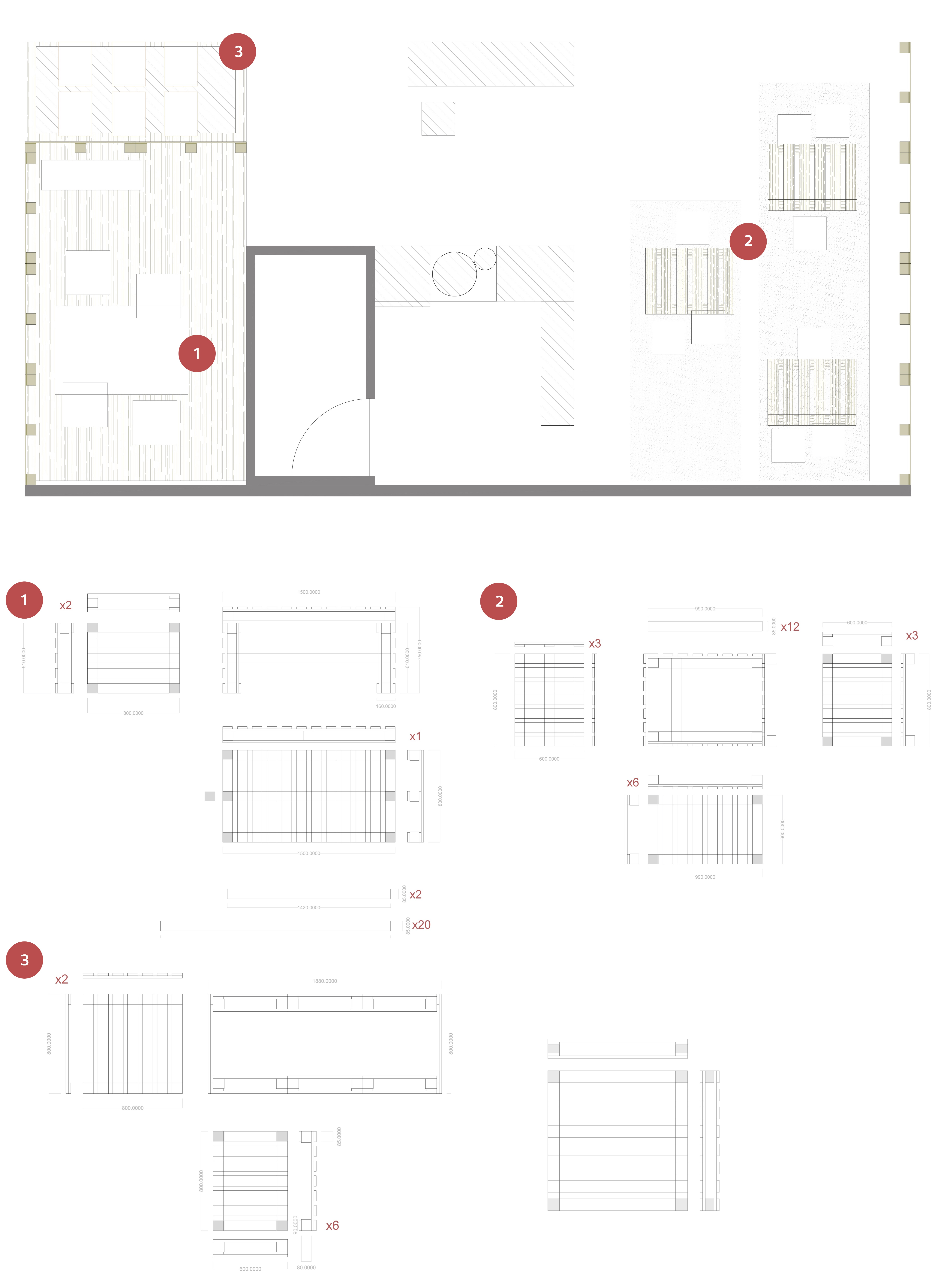 archicercle planos stand fruit atraction