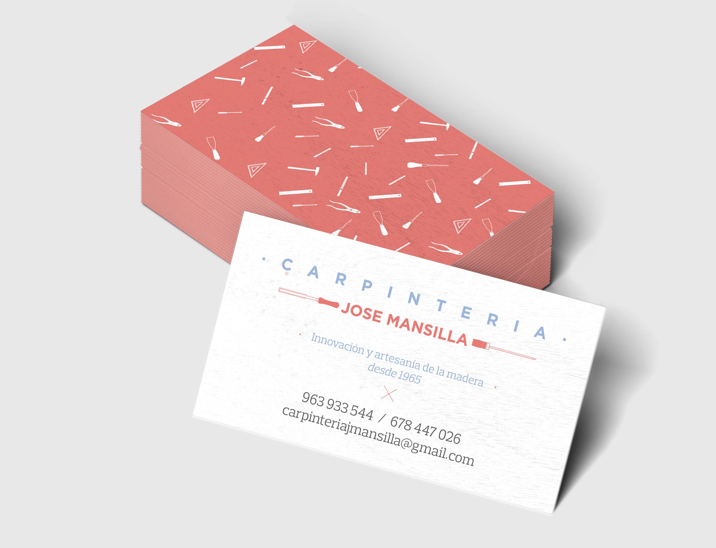 archicercle carpintería mansilla tarjetas