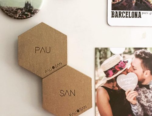 Wedding design – Magnets Pau&San