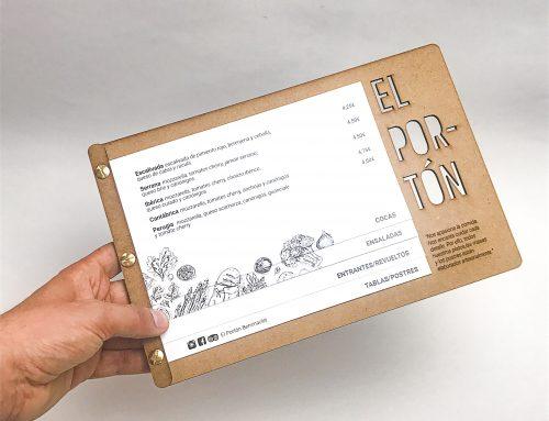 Branding y fabricación del Restaurante El Portón