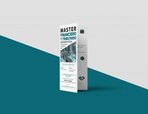 Diseño gráfico Máster Tributario y Financiero