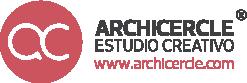 Archicercle Estudio Creativo. Arquitectura + diseño + Fablab + Corte y grabado láser Logo