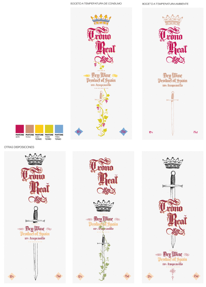 Diseño Trono Real vino Archicercle