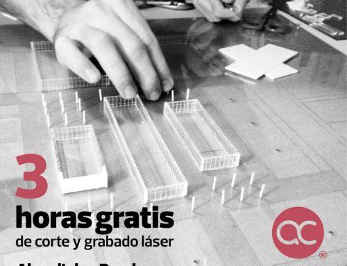Promoción Renders + Corte láser