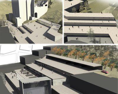 Reorganización urbanística en el borde de Sagunto by Archicercle