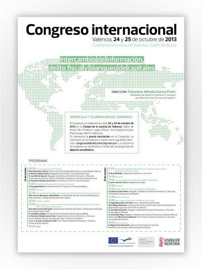 Cartel Congreso Internacional by Archicercle