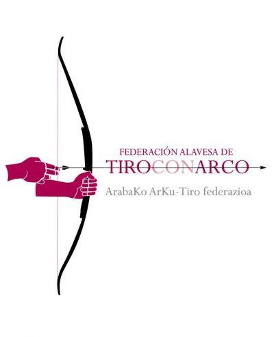 Logotipo federación alavesa de tiro con arco by Archicercle