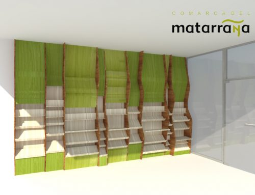 Reforma oficina turismo Matarranya