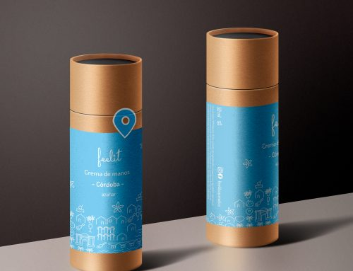 Handcream cosmetics Branding + Packaging