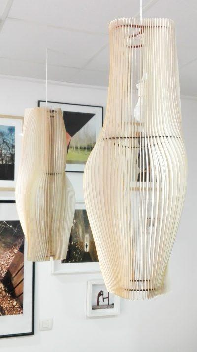 lámpara diseñada en el estudio Archicercle, iluminación, decoración, corte láser