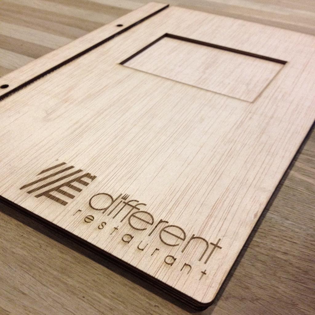 diseño y fabricación cartas restaurante archicercle valencia