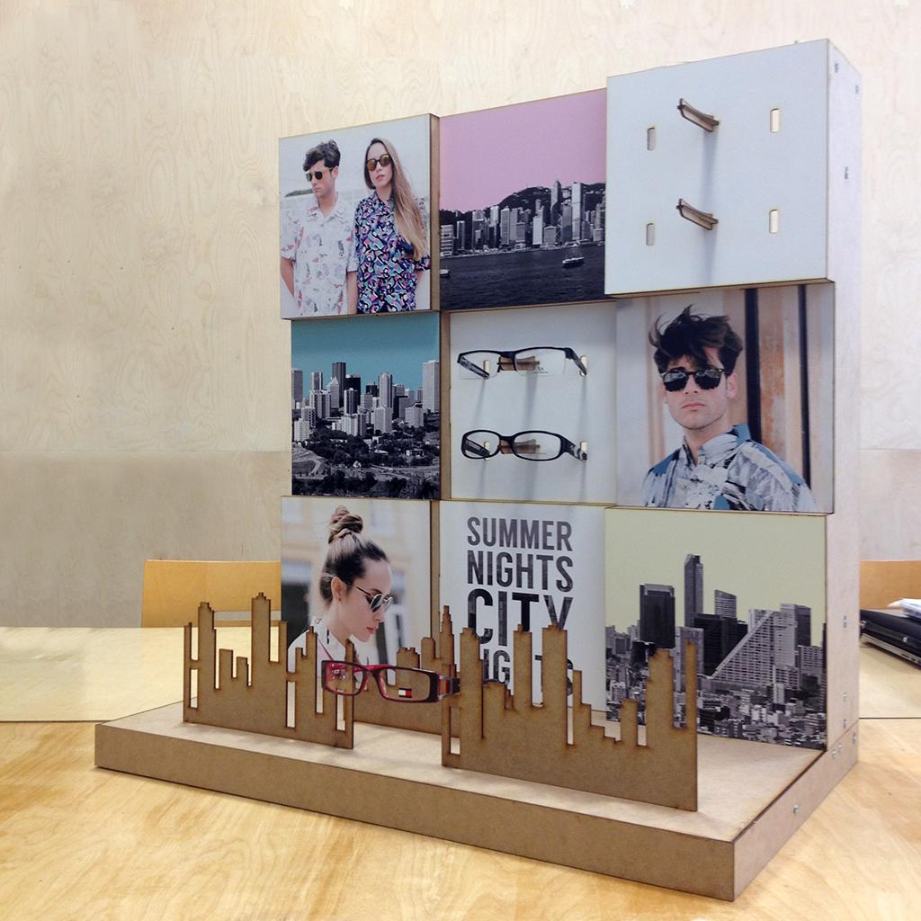 fabricación de expositores, displays y stands en archicercle valencia