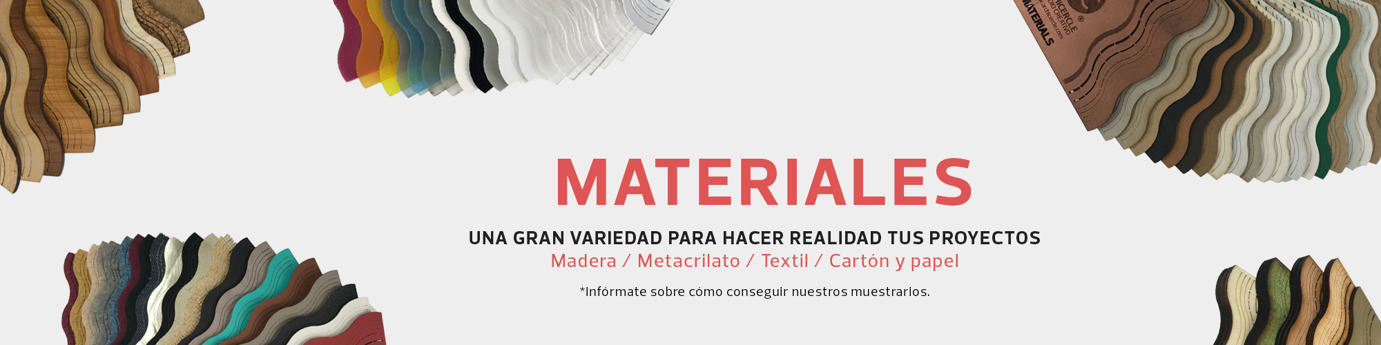 Archicercle - Material en stock