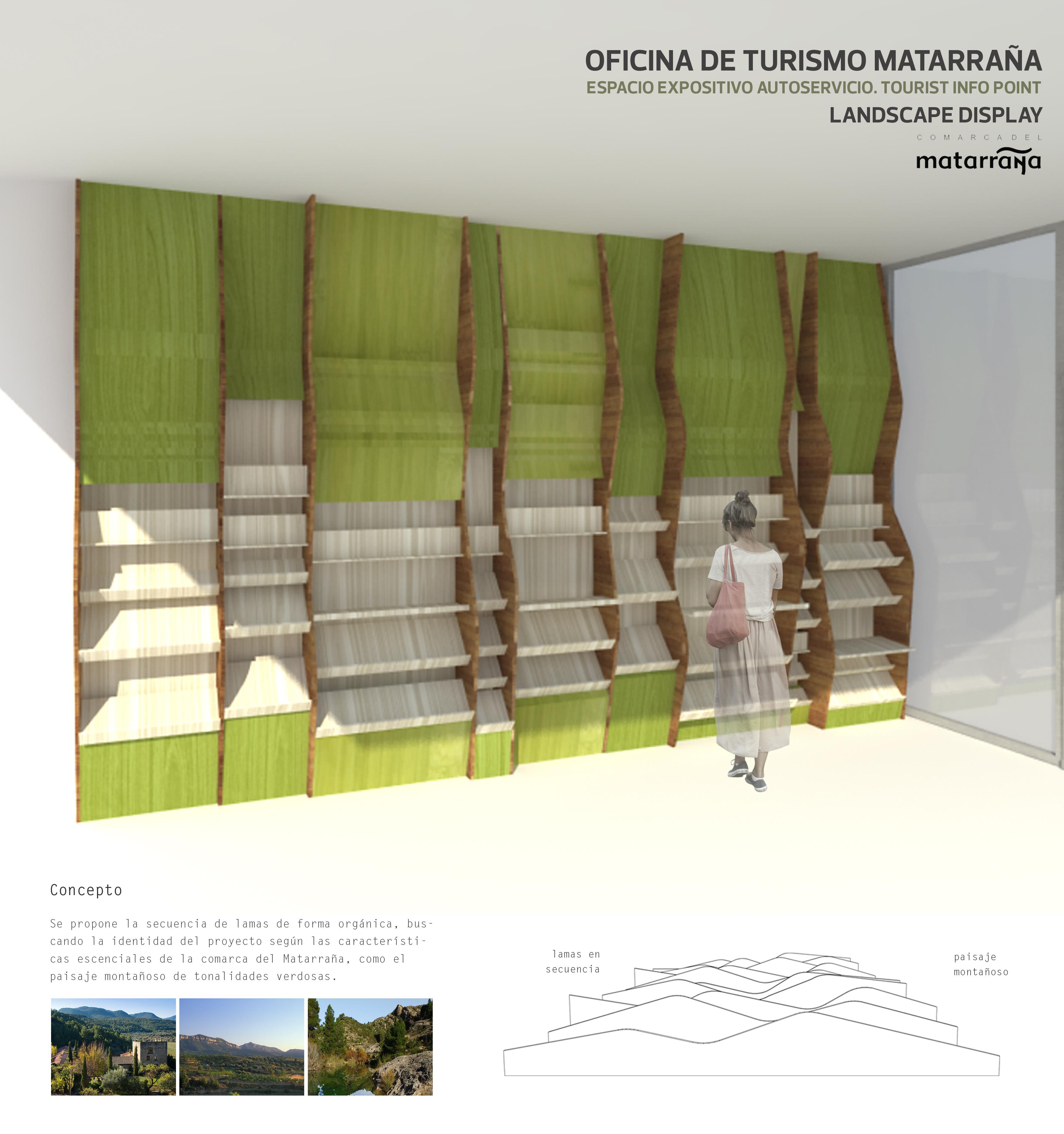 proyecto de reforma oficina de turismo Matarraña archicercle
