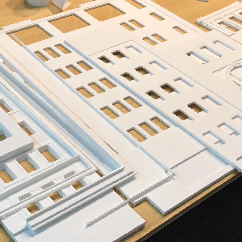 Maqueta porcelanosa Nueva York Archicercle.